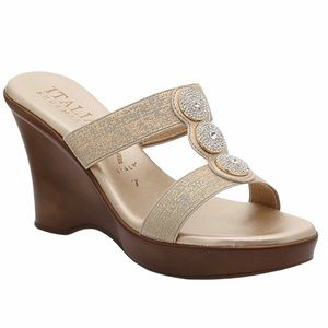 Italian Shoemakers | Women's Melony Wedge Sandals